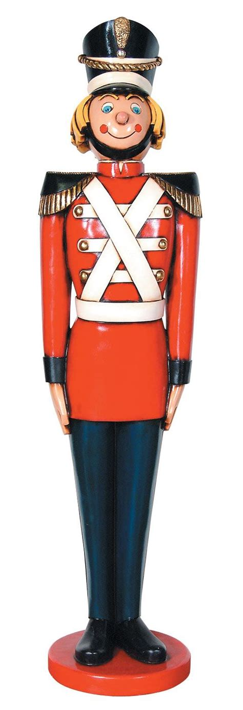 tin soldier statue life size 5 5ft christmas decor
