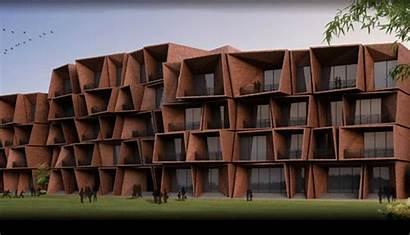 Architecture India Buildings Puri Sanjay Sustainable 1960