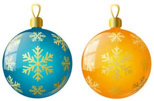 large size transparent yellow and blue ornaments gallery yopriceville high