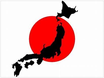 Flag Japan Map Sticker Decal Decals