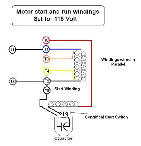 Electric Motor Wiring Diagram 220v by Emerson Electric Motor Wiring Help Doityourself