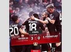 Bayer Leverkusen 3 0 Eintracht Frankfurt Highlight Video