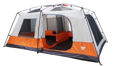 2 Room Tent With Porch by Kenco Outfitters World Sports Two Room Cabin Tent