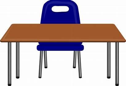 Desk Clipart Transparent Table Background Clip Desks
