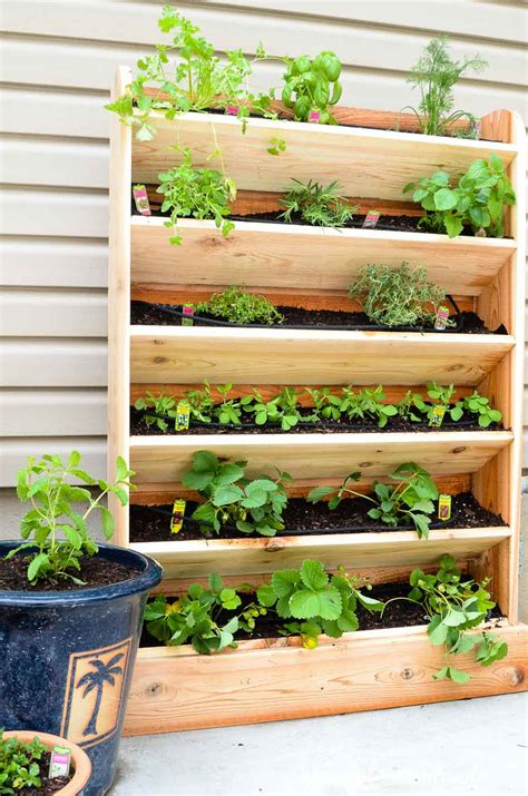 Diy Vertical Garden With Drip Watering System Houseful