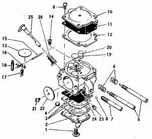 Mcculloch Pro Mac 610 Chain Saw Complete Carburetor Zama     Parts