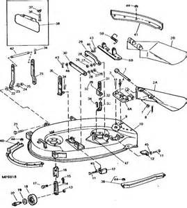 jd l100 mower deck belt diagram jd free engine image for