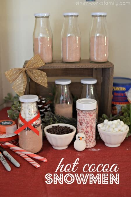 Diy Hot Cocoa Snowman A Simple And Easy  Ee  Gift Ee   Idea A