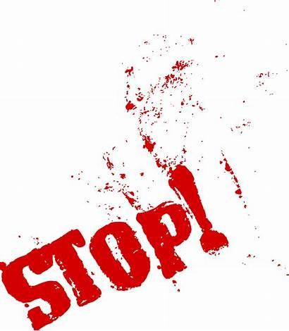 Stop Word Grunge Transparent Onlygfx Px 2646