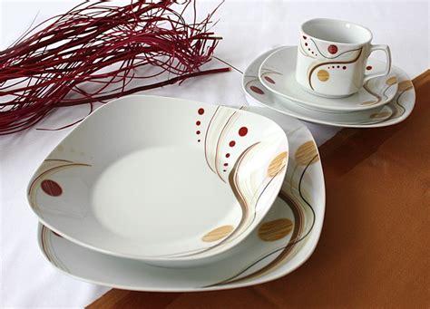 Teller Set 12 Personen by 84 Tlg Tafelservice Teller Set Porzellan Geschirr Set Ess