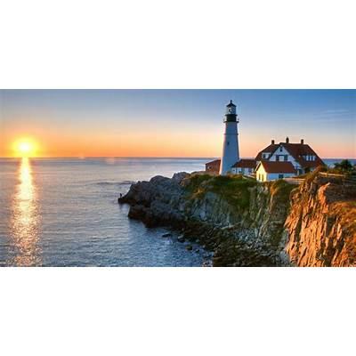 Beautiful lighthouses around the USA