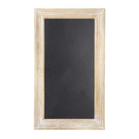 tableau noir ardoise cuisine tableau ardoise noir 81 x 141 cm anjou maisons du monde