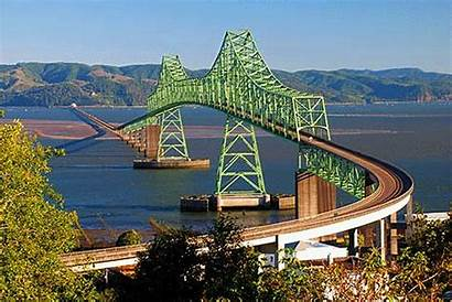 Astoria Bridge Oregon Megler Clatsop County Scenic