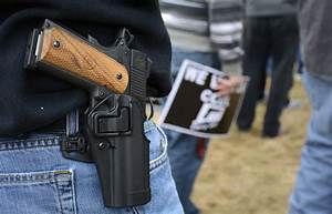 Why Men Feel The Need To Carry Guns