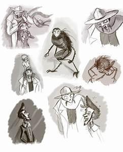 Art Concept Paris : monster in paris doodles2 by odu f on deviantart ~ Premium-room.com Idées de Décoration