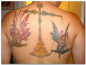 35 Libra Zodiac Sign Tattoo Designs