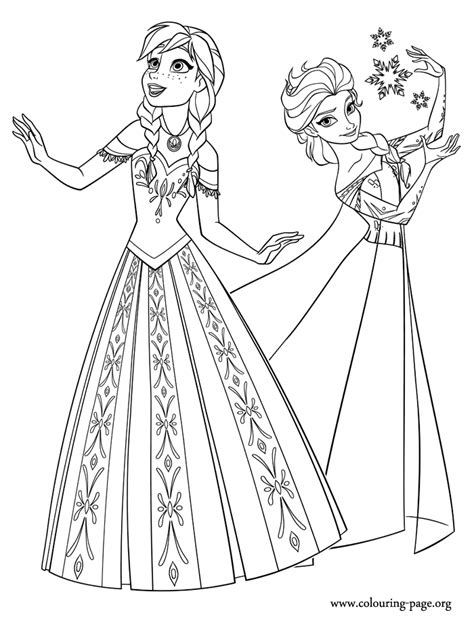 printable coloring pages frozen
