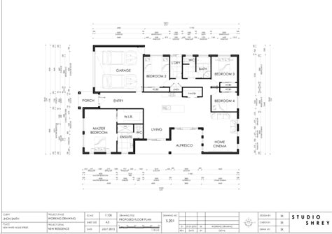 architectural drawing  studioshrey