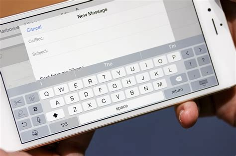 iphone 6 keyboard how to fix iphone 6 keyboard landscape issue