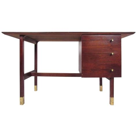 contemporary writing desk mid century modern writing desk for at 1stdibs