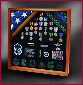Military Retirements and Memorabilia Shadow Box - Greg