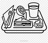Tray Drawing Coloring Pikpng Clipart sketch template