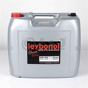 Petroleum 20 Liter : leybold leybonol lvo 100 mineral oil 20 liter l10020 lvo100 ~ Avissmed.com Haus und Dekorationen