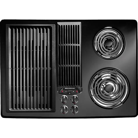 jenn air cooktop with grill electric cooktop with designer line modular electric downdraft cooktop 30