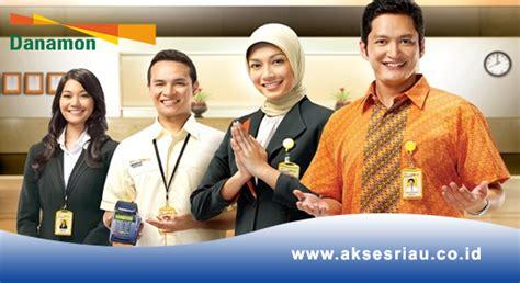lowongan bank danamon pekanbaru