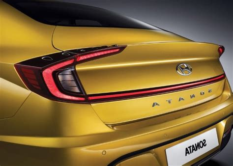 2020 Hyundai Sonata Yellow by Auto Shows 2020 Hyundai Sonata Reveals Striking New
