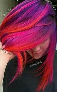 De 5156 Bsta Colourful Hair Inspiration Bilderna P Pinterest