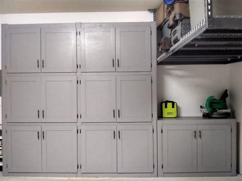ana white garage shelves  doors diy projects