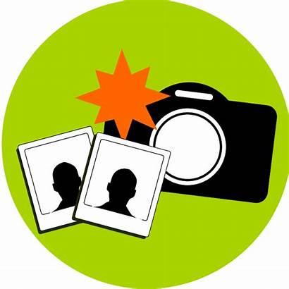 Camera Clip Clipart Flash Still Computer Cliparts