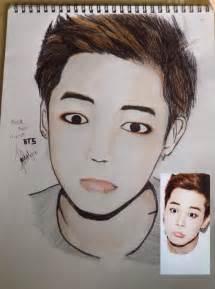 Park Jimin BTS Drawing