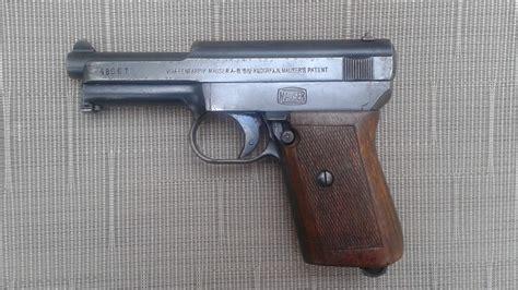 Ww1 German Mauser Pocket Pistol