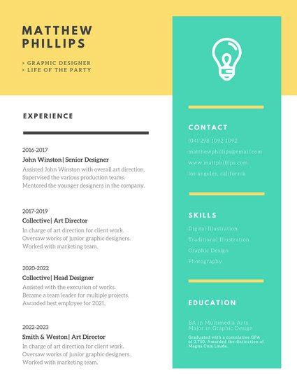 curated cv template for designer material design customize 397 creative resume templates online canva
