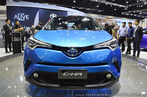 toyota motors india toyota c hr showcased at thai motor expo 2017
