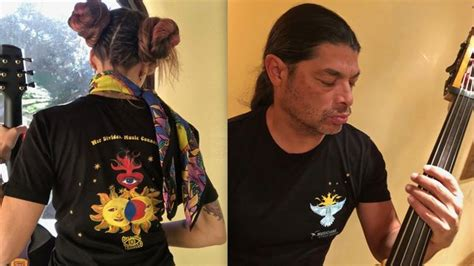 metallica bassist s trujillo and musicians without borders launch limited edition t