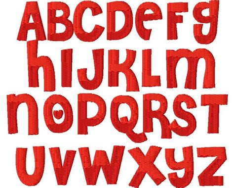 cutie embroidery font great thick font monogram set  monogram embroidery fonts font styles