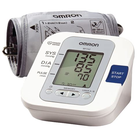 OMRON BP742   5 Series Upper Arm Blood Pressure Monitor