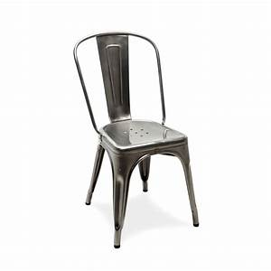Copie Chaise Tolix Top Style Pas Cher Montpellier Large Size With