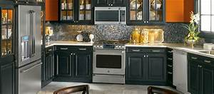 Black Kitchen Appliances Agreeable Furniture Collection