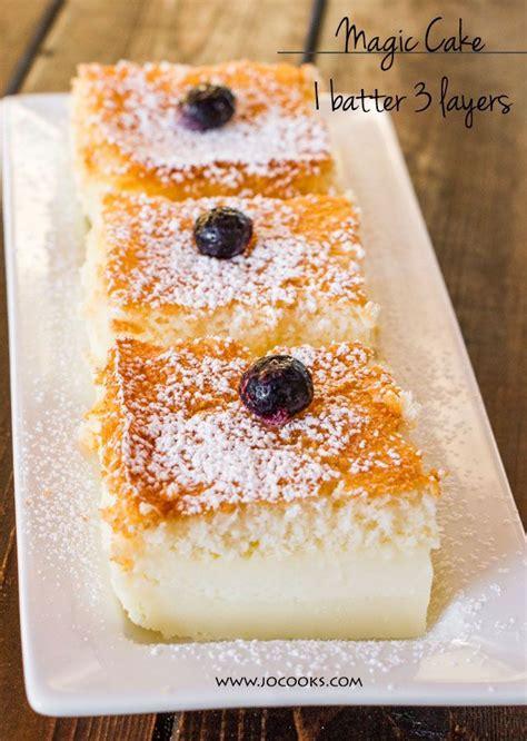 magic cake recipes  pinterest magic custard cake
