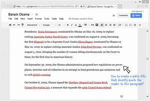 How to link to a specific paragraph of a google document for Documents link in google docs