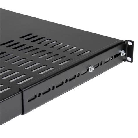 server rack shelf 1u adjustable depth vented rack mount shelf server rack
