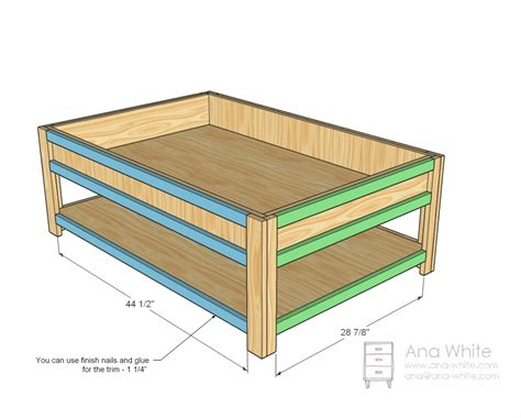 ana white moms train table diy projects