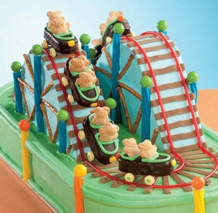 cake ideas roller coaster theme dessert recipes