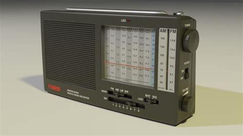3D model Shortwave Radio Receiver   CGTrader