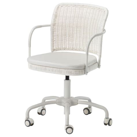 ikea office desk chair gregor swivel chair white blekinge white ikea office