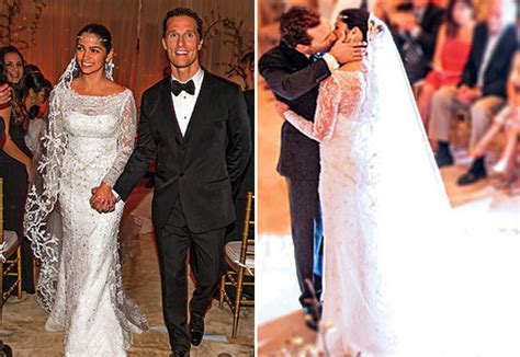 Camila Alves And Matthew Mcconaughey Wedding